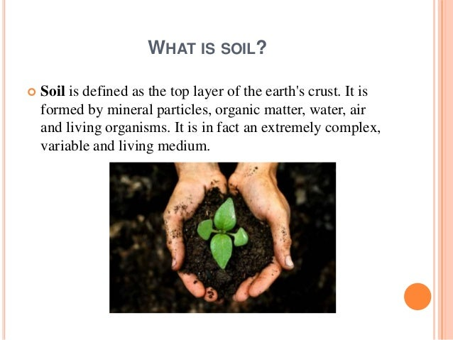 Threatened agricultural resources soil for What is soil resources