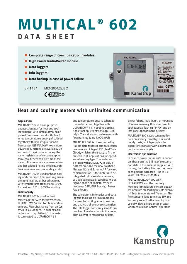 heat energy calculator oiml r75-1 2002