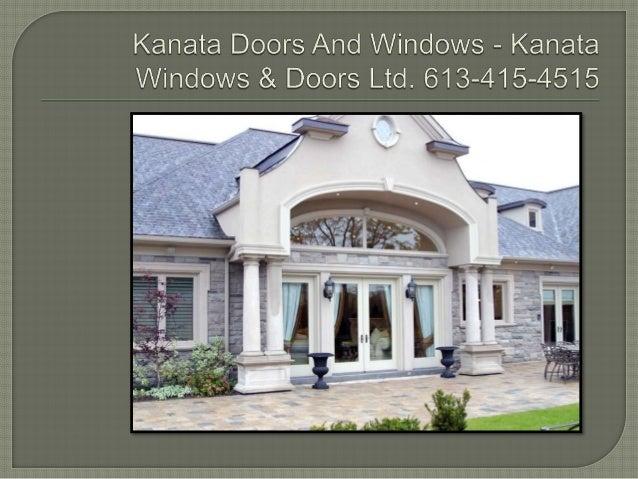 Kariata Doors And Windows - Kanata Windows & Doors Ltd.  613-415-4515