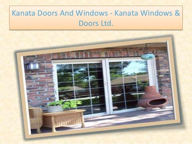 Kanata Doors And Windows - Kanata Windows & Doors Ltd.