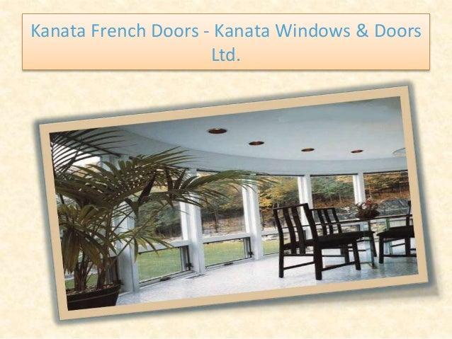 Kanata French Doors - Kanata Windows & Doors Ltd.