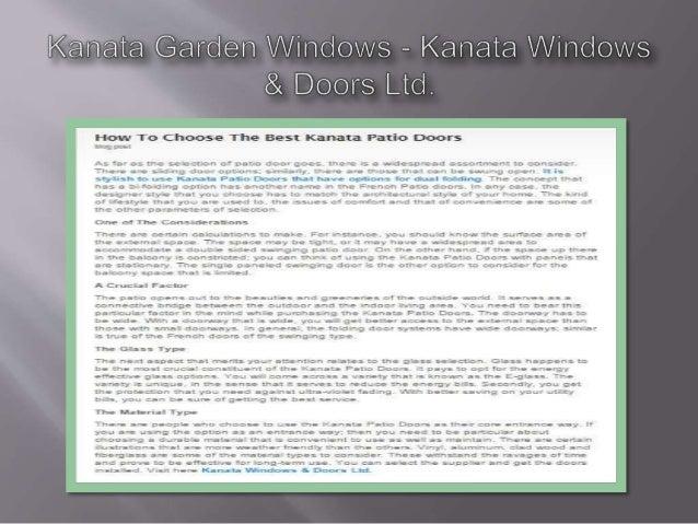 arden Windows — Kanata / Vmdovvs & Doors Ltd.   How To Choose The Best Kanata Patio Doors : x«: >g 3051  A far 55 1-1: se*...