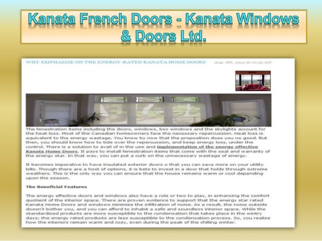 "' Kanata French Door:  - Kanata Wlndnws T 2% Ram I-Bl.   ERCEY R, JC! 'Ei""v §(. —X. .'. »'-. T -'-.  T-(C131? D(: rC)RS  T..."