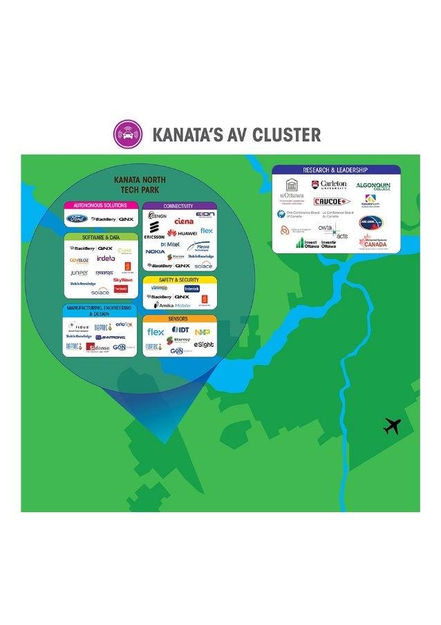 Canada's Hub of Autonomous Vehicle Innovation is in Kanatas (Ottawa)