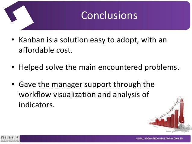 case study on kanban system