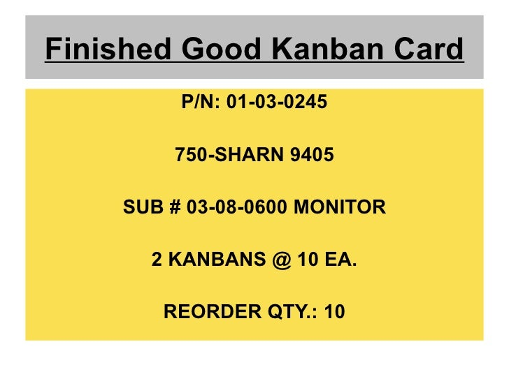 Kanban Controlled Manufacturing Systems Ppt Push Pull