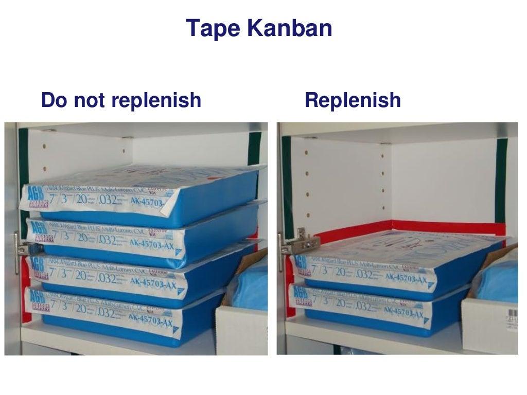 Tape Kanban Do Not Replenish
