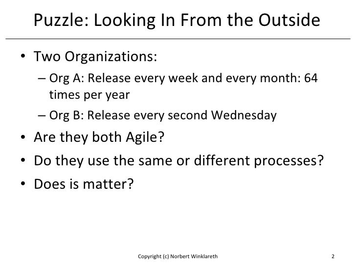 Kanban: Thinking Outside The Time Box Slide 2