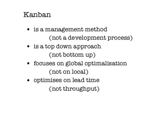 Kanban visualisation Slide 3