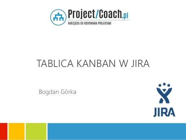 TABLICA KANBAN W JIRA Bogdan Górka