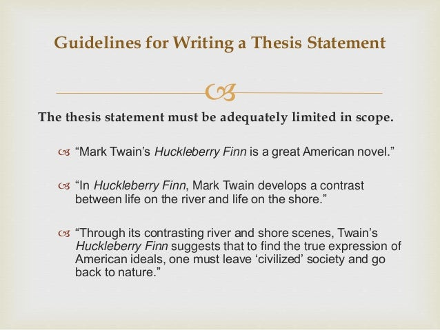 thesis writing pdf