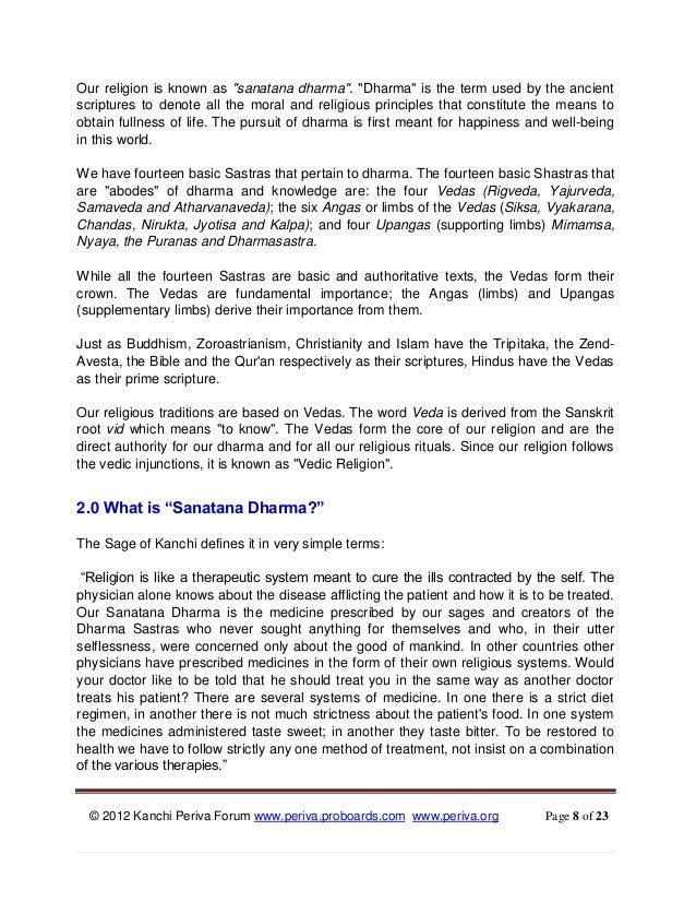 Kanchi Periva Forum - Ebook # 1 - Why Rituals Are Important