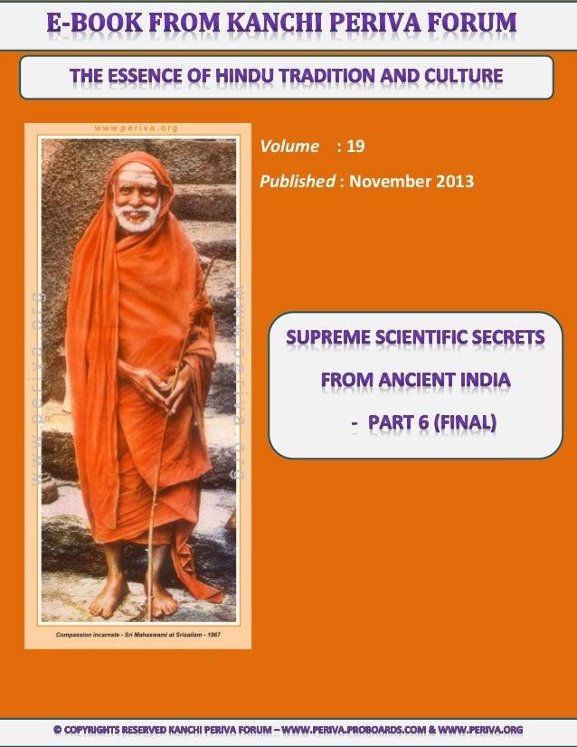 Volume : 19 Published : November 2013