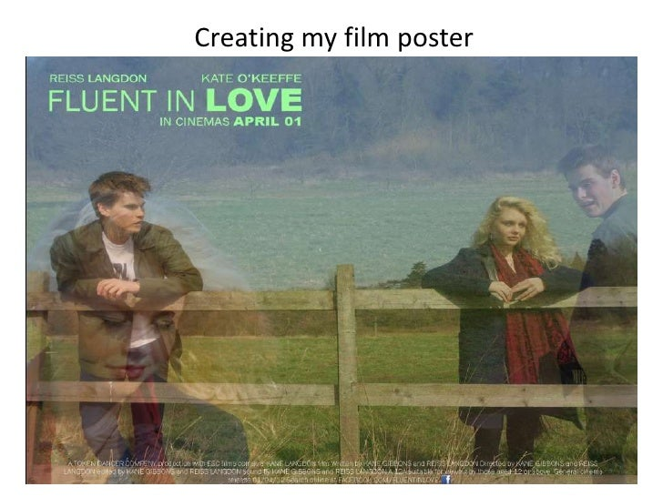 Creating my film poster