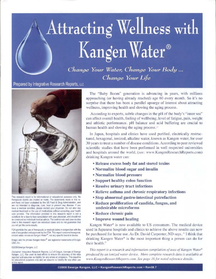 Kangen Water Report08