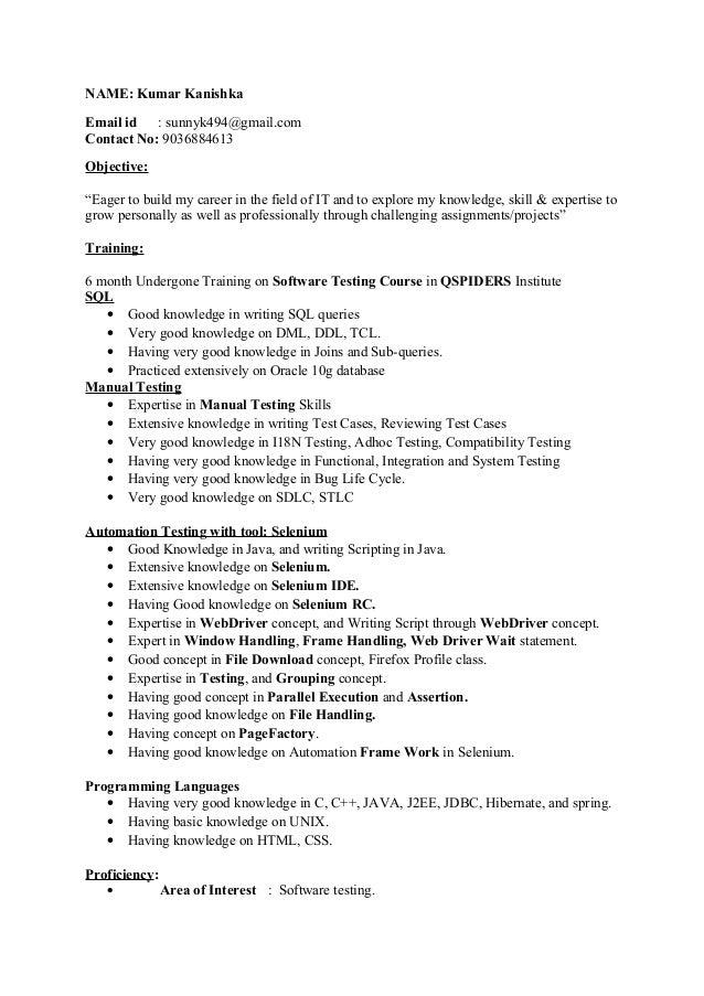 kanishka resume
