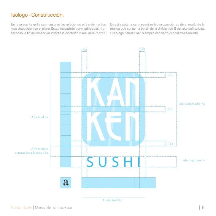 Isologo - Construcción.En la presente grilla se muestran las relaciones entre elementos       En esta página se presentan ...