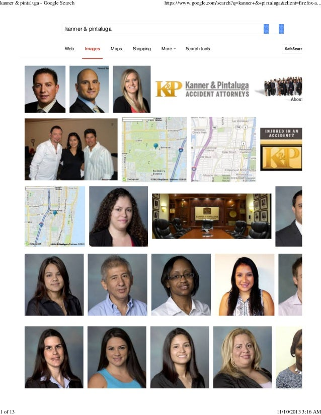 kanner & pintaluga - Google Search  1 of 13  https://www.google.com/search?q=kanner+&+pintaluga&client=firefox-a...  kanne...