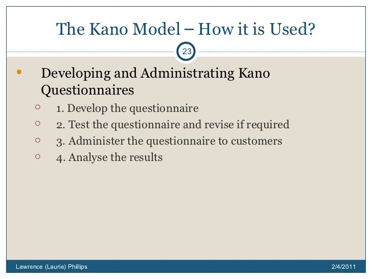 kano model advantages What is the kano model the kano model is an insightful way of understanding and categorizing 5 types of customer requirements (or potential features) for new.