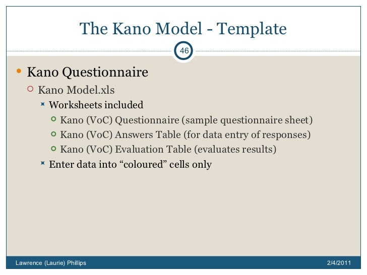 Kano Model - How to delight your customers