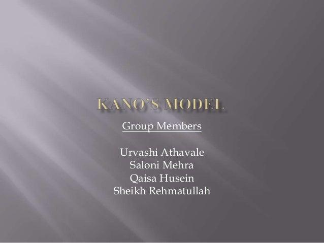 Group Members Urvashi Athavale Saloni Mehra Qaisa Husein Sheikh Rehmatullah