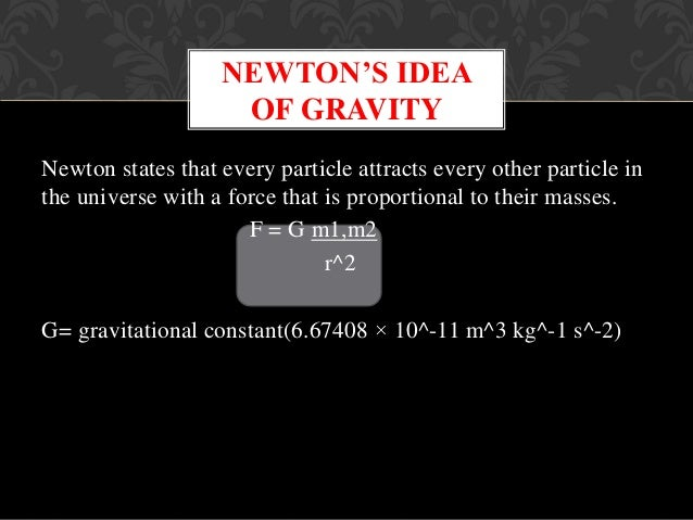 Objects with mass distorts space time around themselves just as weights placed on a rubber sheet make dents in it. Because...