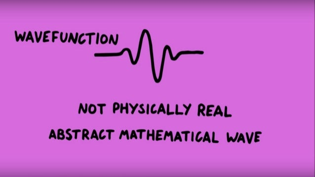 A single electron wave passes through both slits at the same time