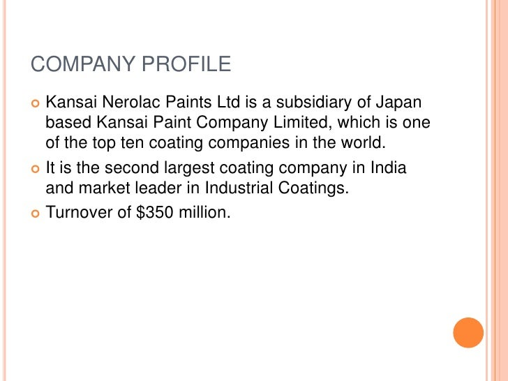 business policy of kansai nerolac paints Kansai nerolac paints q1 net at rs 13984 crore mumbai, jul 20 kansai nerolac paints today reported a marginal decline in its net profit at rs 13984 crore for the quarter ended june 30 it had posted a net profit of rs 14081 crore in the corresponding quarter last fiscal.