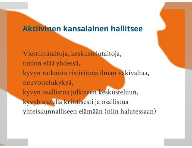 Kansalaisen vaikutusmahdollisuudet Suomessa