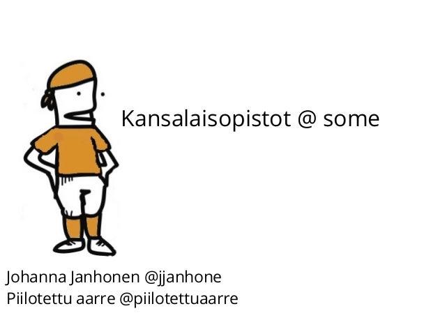 Kansalaisopistot @ some Johanna Janhonen @jjanhone Piilotettu aarre @piilotettuaarre