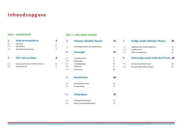 Kansenkaart Hollandse Plassen Slide 2