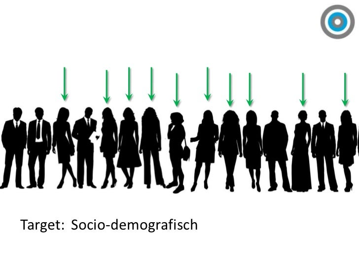 Target:<br />Socio-demografisch<br />