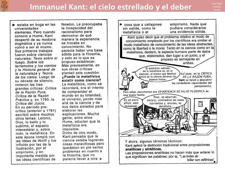 Kant en cómic Slide 2