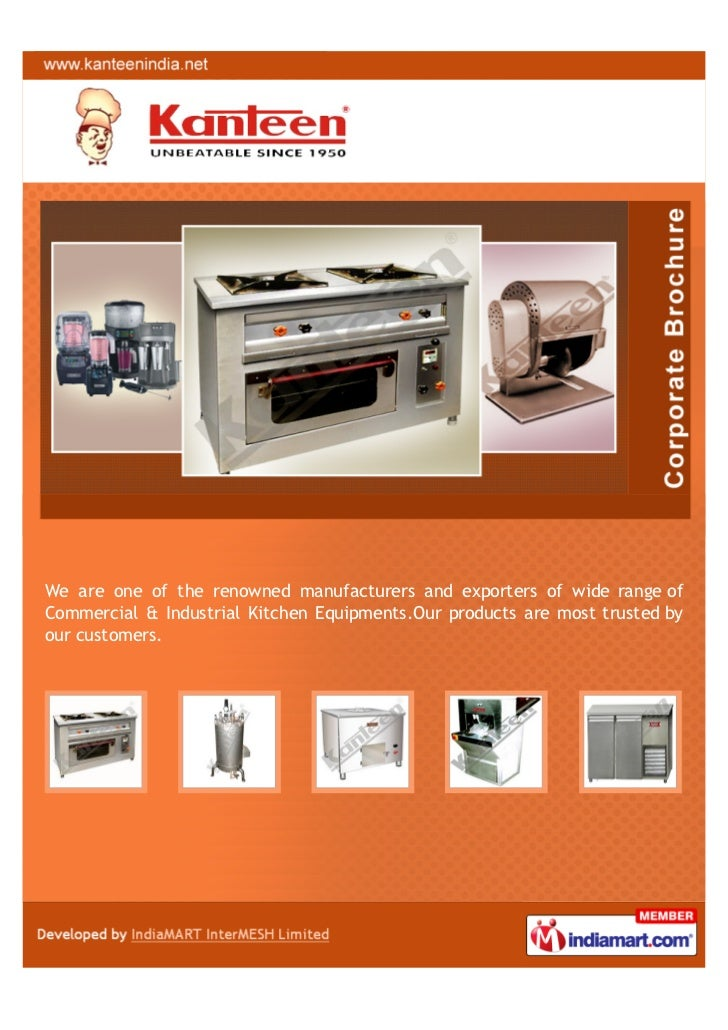 Commercial Kitchen Equipments Manufacturers In Kolkata