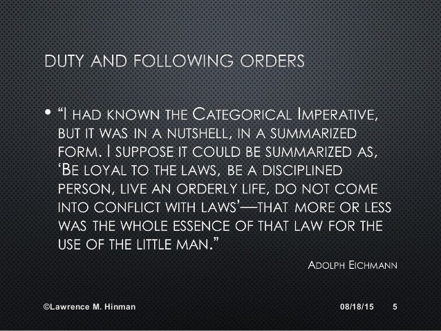 ethics kantian ethics Kantian duty-based ethics says that some things should never be done, no matter what good consequences they produce this seems to reflect the way some.