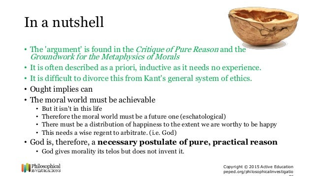 a critique of kants groundwork of the metaphysics of morals Kant's groundwork for the metaphysics of morals edition combines a newly revised version of tk abbott's respected translation with material crucial for placing the groundwork in the context of kant's broader moral from immanuel kant, critique of practical reason (1788.