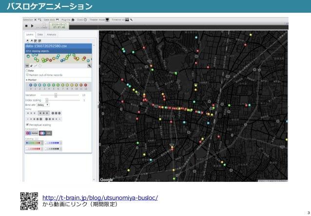 宇都宮 関東自動車のGTFSリアルタイムを用いた遅延分析 Slide 3