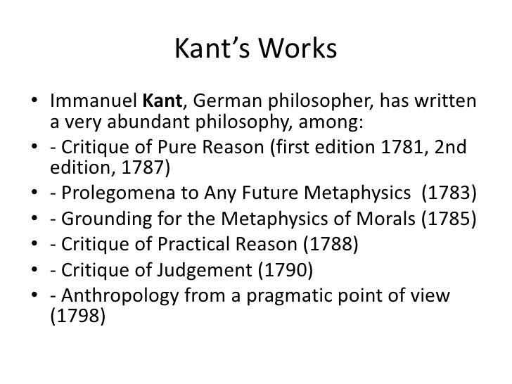 immanuel kants ethics of pure duty Kant's supreme moral principle or  even if there never have been actions arising from such pure sources, what is at issue  commanded by reason because duty lies,.