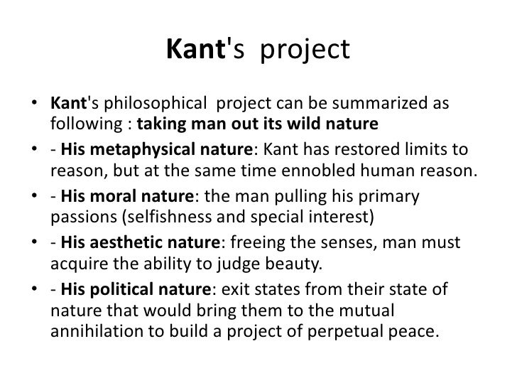 kant metaphysics of morals summary