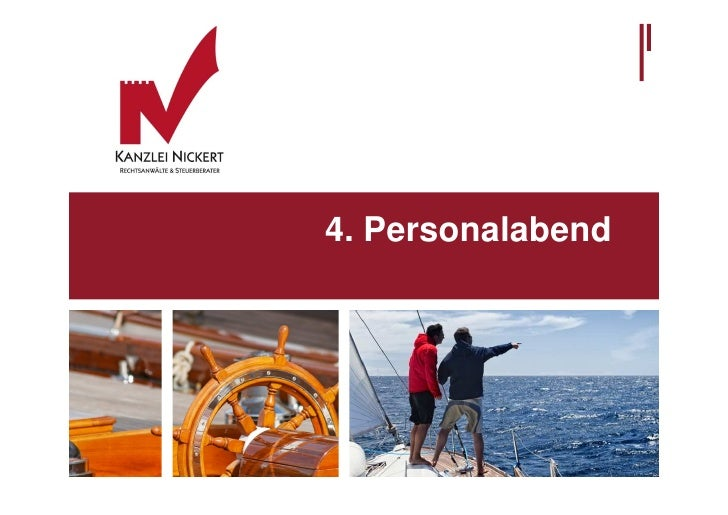 4. Personalabend