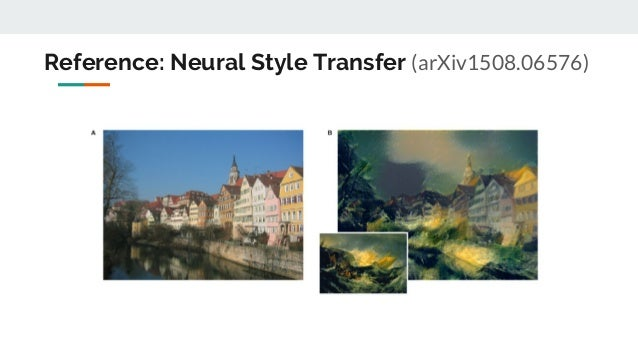 Deep photo style transfer tutorial