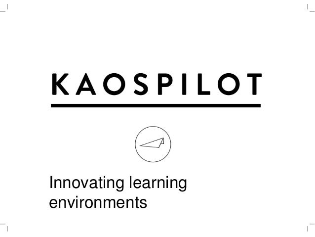 Innovating learning environments
