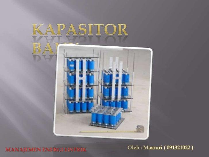 Kapasitor Bank