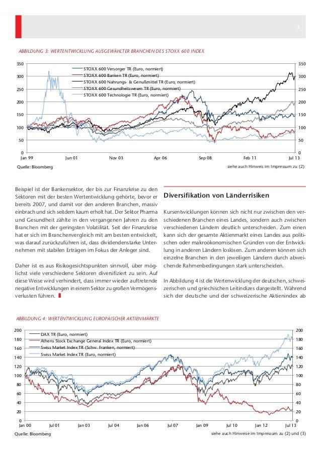 Kapital & Märkte: Ausgabe August 2013 Slide 3
