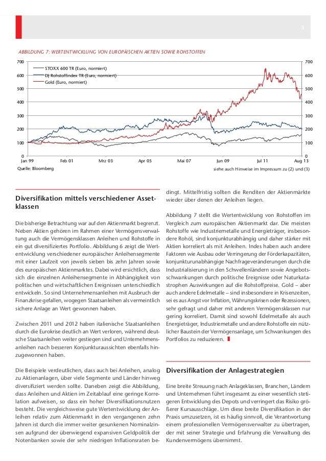 4 5 dingt. Mittelfristig sollten die Renditen der Aktienmärkte wieder über denen der Anleihen liegen. Abbildung 7 stellt d...