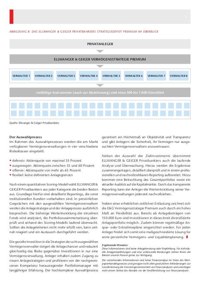 6 7 garantiert ein Höchstmaß an Objektivität und Transparenz und gibt Anlegern die Sicherheit, ihr Vermögen nur ausge- suc...