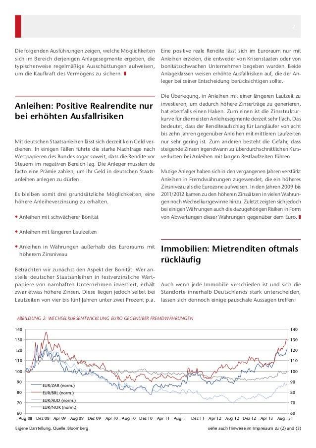 Kapital & Märkte: Ausgabe September 2013 Slide 2