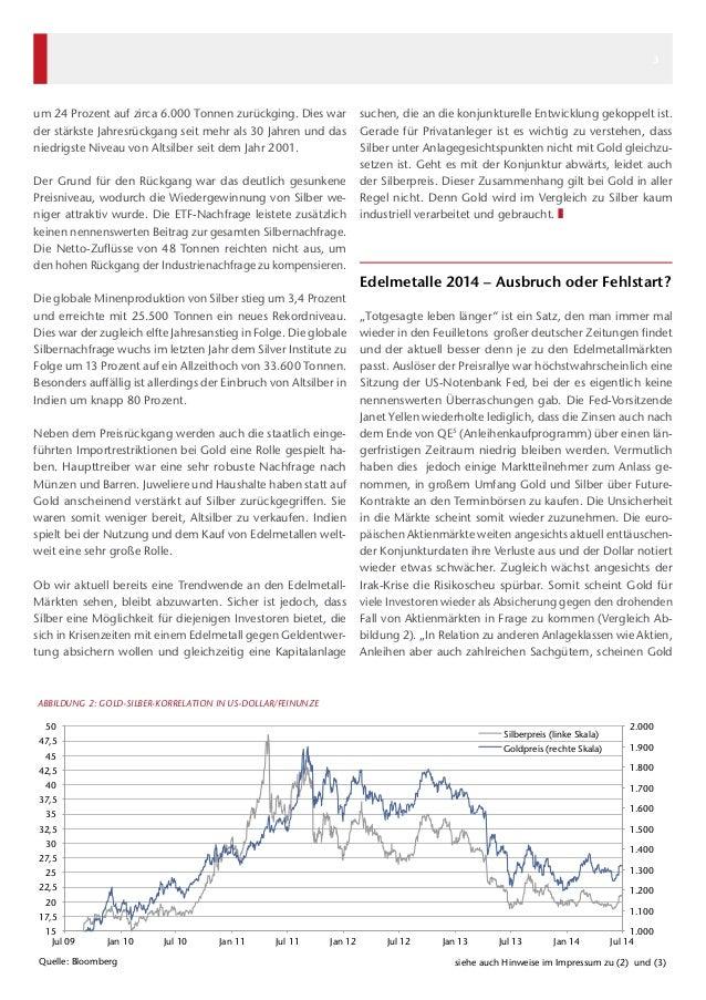 Kapital & Märkte: Ausgabe Juli 2014 Slide 3