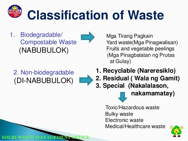 "the implementation of proper waste segregation By then, the city will observe a strict implementation of ""no segregation, no collection policy"" ordinance this city ordinance is in compliance with republic act 9003, or the act providing for ecological solid waste management program."