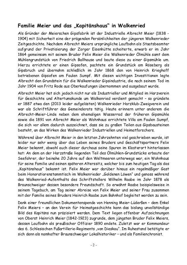 """Der """"Walkenrieder Kapitän"""" Felix Meier (1834-1886) Slide 2"""